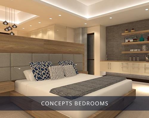 conceptsBEDROOMS